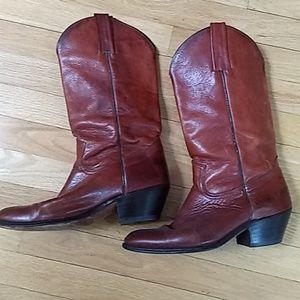Frye cowboy boots 10M